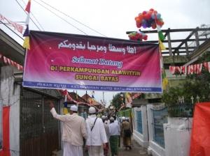 Selamat Datang Di Perkampungan Alawiyyin Sungai Bayas